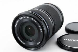 Olympus M.ZUIKO Digital 40-150mm f4-5.6 R ED MSC Black [Exc From Japan [528]