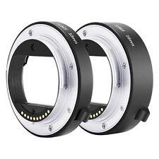 Neewer Auto Focus Macro Extension Tube Set 10mm 16mm for Sony NEX E-mount Camera