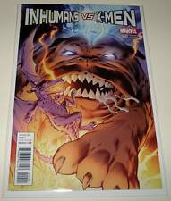 INHUMANS Vs X-MEN # 0 (Zero) Marvel Comic Jan 2017   NM   Davis VARIANT COVER