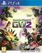 *NEW* PLANTS VS ZOMBIES Garden Warfare 2 SONY PS4 GAME ENGLISH VERSION 12+