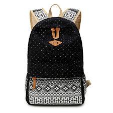 Korean style women schoolbags backpack canvas cute school backpacks for girls