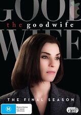 THE GOOD WIFE-Season 7-Region 4-New AND Sealed-6 Disc Set-TV Series