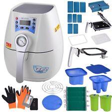 3D Mini Vacuum Heat Press Machine Transfer Sublimation Printer Phone Case Mug