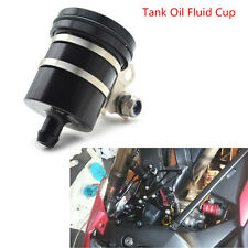 1pcs Motorcycle ATV CNC Aluminum Brake Fluid Reservoir Clutch Tank Oil Fluid Cup