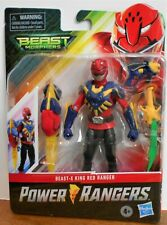 NEW 2020 Hasbro Power Rangers  *BEAST-X KING RED RANGER*  Beast Morphers Series