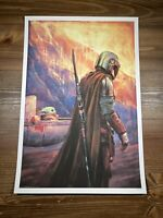 "Star Wars ""The Journey Ahead"" Mandalorian Art Print Poster Alice X. Zhang XX/250"