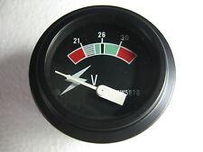 24 Volt Round Panel Meter Gauge for Military Trucks Equipment Caterpillar 4W5870