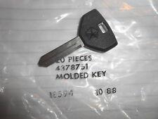 NOS Chrysler Dodge OEM Ignition Door Key New Yorker Aries LeBaron D250 4378751