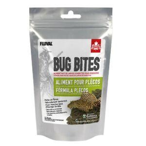 Fluval Bug Bites Formula Plecos 130g alimento loricaridos sticks 17 - 20mm