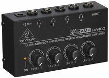 Behringer Microamp HA400 4 Kanäle Verstärker