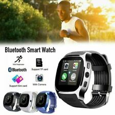 T8 Bluetooth Smart Watch With Camera Support Facebook Whatsapp SIM TF Card Watch