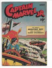 CAPTAIN MARVEL JR. 22 - F- 5.5 - GOLDEN AGE SUPERHERO (1944)