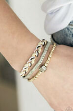 Adjustable Unisex Urban Bracelet Nwt Paparazzi Off White Ivory