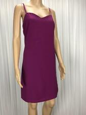 ** ASOS ** BNWT * Size 12 Purple Womens Strap Occasion Shift Dress - (B127)