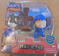 Fisher-Price Mike The Knight Mike + Yap Figures