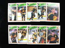1988 89 O Pee Chee Vancouver Canucks  NHL team set