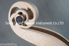 musical instrument part :5strings 3/4 Emptied upright double bass maple neck
