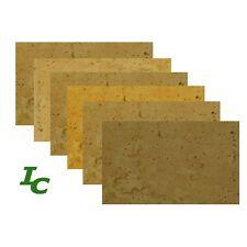 "Natural Cork Sheet Assortment, for Clarinet, Saxophone, Etc. (4"" x 3"")"