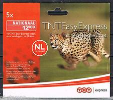 Express zegel TNT 2007 12:00 uur compleet boekje van 5 * START PLM NOMINAAL