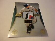 MARK TEIXEIRA YANKEES 2004 SP GAME USED JERSEY PATCH CARD 4/50 RARE