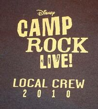 Camp Rock 2010 Tour Local Crew T-shirt XL Never Worn