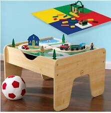 Lego Table Kids Train Top Play Art Craft Activity Desk With Storage Kidkraft