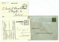 G181 Sweden official military stationery ps stamp cut out scarce militarbrevkort