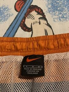 Vintage Nike 90's Swimming Trunks Large Spellout