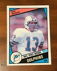 1984 Topps #123 Dan Marino Miami Dolphins rookie RC HOF Authentic Mint?