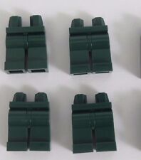 Lego 4  Leg  Legs Lower Parts For Minifigure Figure  Dark Earth Green