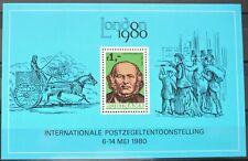 Surinam Souvenir Sheet - London Stamp Exhibition, Rowland Hill_1980 - MNH.