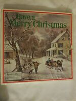 Have A Merry Christmas LPs 5 Record Box Set Readers Digest 1974 Vinyl