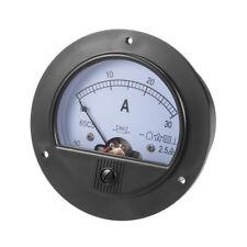 65c5 Analog Current Panel Meter DC 30a Ammeter for Circuit Testing 1 Pcs