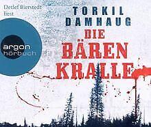 Die Bärenkralle (Hörbestseller) (6 CDs) von Damhaug, Torkil   Buch   Zustand gut