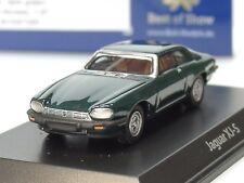 BOS Jaguar XJ-S, british racing green - 87290 - 1/87