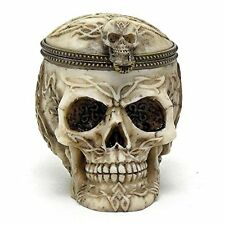Bowl Skull Skeleton Candy Dish Halloween Decor Treat Offer Kids Decoration New
