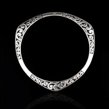 BANGLE TIBET STYLE 925 FASHION SILVER PLATED VINTAGE BRACELET 64MM 8 IN.