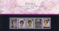 1998  Diana Princess of Wales   Presentation Pack