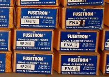 """FNA-2/10 Amp BUSS Pin Indicating Fuses 13/32""""x1-1/2"""" Bussmann NEW Lot of 4 250V"""