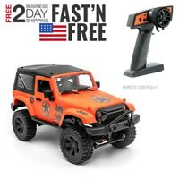 1/14 4WD RC Cars 2.4G Radio Control RTR Crawler Off-Road Buggy For Jeep Vehicle