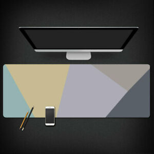 Cool Large Polygon Gaming Mouse Pad gamer 80x30cm Play Mat Minimalist Style