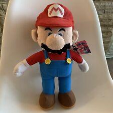 """2009 Official Nintendo - Super Mario Bros - 15"""" Mario Soft Plush Toy / Teddy"""