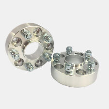 2X HUBCENTRIC WHEEL SPACERS ADAPTERS 5X110 ¦ 12X1.5 ¦ 65 CB ¦ 50MM 2.0""