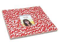 "Moda FABRIC Layer Cake ~ MERRILY ~ by Gingiber 10"" squares"