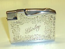Elgin American' 400' pocket lighter-Sterling Silver - 1950-made in U.S.A.