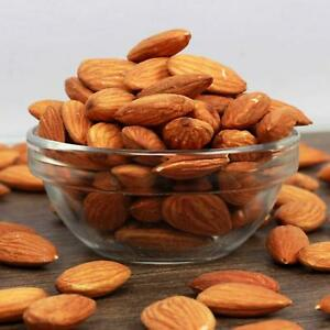 Organic Whole Raw NO 1 Almonds Nuts  - 500 gm (Free shipping worldwide)