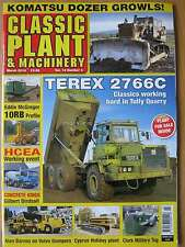 Classic Plant & Machinery March 2016 Terex 2766C Volvo Dumpers Clark Tug Komatsu
