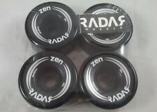 Zen Radar Black roller skate wheels 62mm x 32mm 85a Factory Sealed Free Shipping