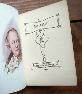 Songs of Innocence & other Poems by William Blake * miniature book leather?