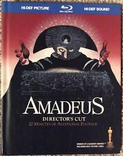 Amadeus (2009 Wb Director's Cut) Like New DigiBook Blu-Ray. Milos Forman.